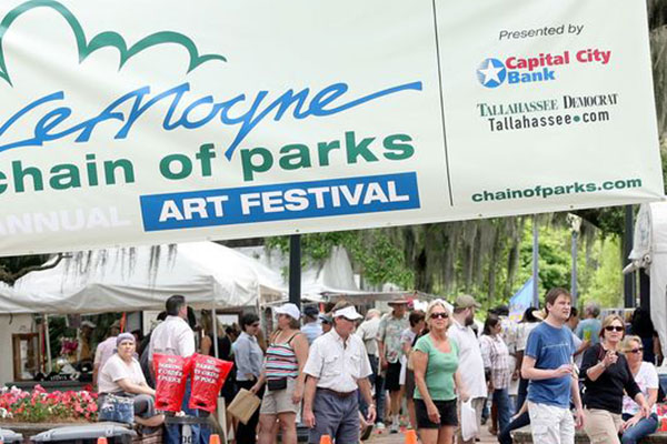 People enjoy the LeMoyne Chain of Parks festival. (Photo: Democrat files)
