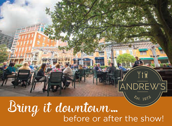 Andrew's: Bring it downtown ... before or after the show!