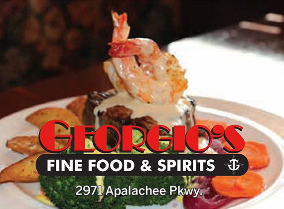 Georgio's: Fine Food & Spirits: 2971 Apalachee Pkwy.